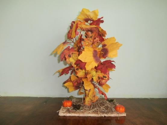 Поделка из природного материала на тему осень дерево 50